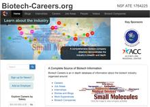 Biotech Careers web site